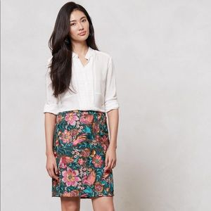 Anthropologie - Yoana Baraschi Fiore skirt - sz 0